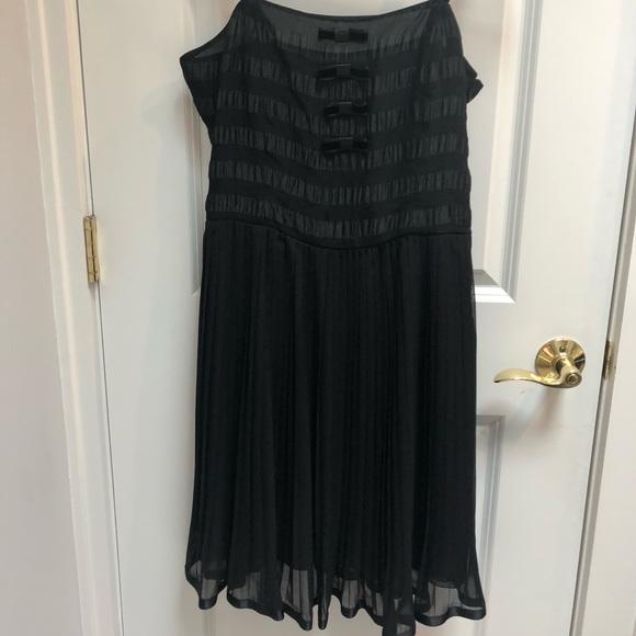 74899d39990472 Blumarine Dresses | Price Drop Dress In Black | Poshmark